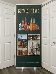 Buffalo Trace Bourbon Whiskey Retractable Banner Advertisement Display Sign 84