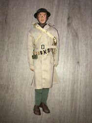 1/6th Scale,ww1 U.s Officer Sideshow -bayonets And Barbed Wire . Lee Marvin