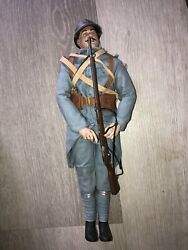 1/6th Scale,ww1 French Sideshow -bayonets And Barbed Wire