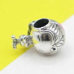 New Genuine Pandora Release Happy Teenager Girl Charm Free Pouch S925 Ale
