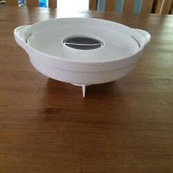 Black Decker Hs800 Food Vegetable Steamer Drip Tray White Replacement Part