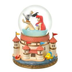 Disney Store Japanariel And Scuttle Snow Globe The Little Mermaid Story Collection