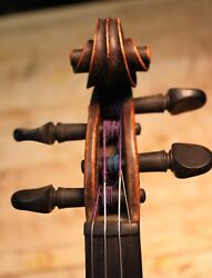 French Violin Salzard 4/4andnbspviolinandnbsp 1840 One Piece Flamed Maple Back Antique
