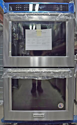 Kitchenaid Kode500ess 30″ Double Electric Wall Oven Self-cleaning
