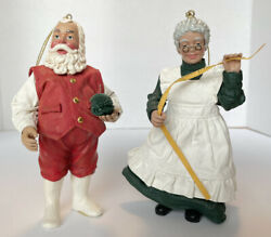 Clothtique Possible Dreams Santa And Mrs Claus A New Suit For Santa 2001