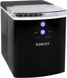 Igloo Iceb33bk Large-capacity Automatic Portable Electric Countertop Ice Maker M