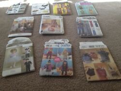Simplicity Vogue Mccalls Vintage Sewing Patterns Lot Of 10 Patterns