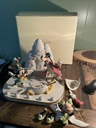 Rare Disney, Mickey Mouse And Friends Present A Day In Never Land, Lenox 037851