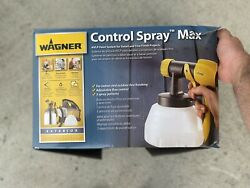 See Notes Wagner Spraytech 0518080 Control Spray Max Hvlp Paint Or Stain Sprayer