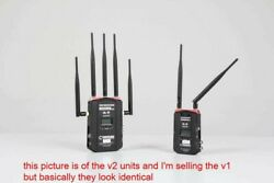 Cinegears Ghost Eye Wireless Video Transmitter/receiver Package 1200' Tx And 2x Rx
