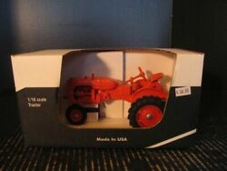 Scale Models Allis Chalmers Model Ca Tractor 1/16 Ft0530 Diecast
