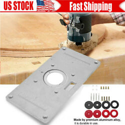 Details About Router Table Insert Plate For Woodworking Benches Parts