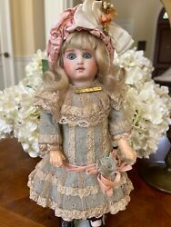 11 Exceptional Antique Early Sonnenberg Doll Made For The French Market