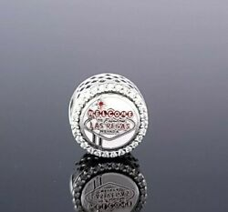 New Pandora Las Vegas Exclusive Welcome Sign The Jewel Bead Silver Charm Ale