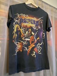 Pantera Band Tour Tee Grey Short Sleeve On Tennessee River Tag Size S