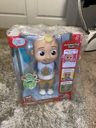 Brand New Cocomelon Deluxe Interactive Jj Doll Plush Free Same Day Shipping 🚀🚀