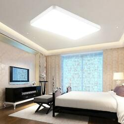 72w Ceiling Light Square Dimmable Bedroom Panel Ceiling Fixtures Flush Mount