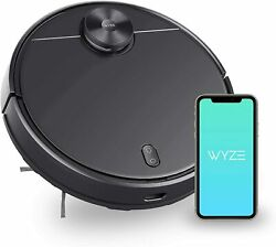 New - Wyze Smart Robot Vacuum Cleaner Wifi Lidar Mapping 2100pa Suction Robotic