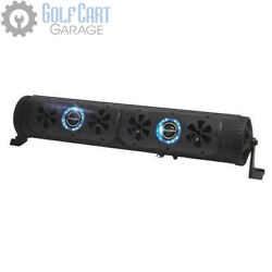 Bazooka Party Bar G2 Golf Cart Speaker System With Rgb Led Lights