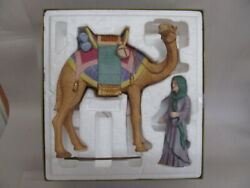 Lenox Renaissance Nativity Camel And Driver Figurines In Box