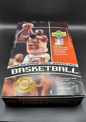 1998-99 Ud Series One Nba Hobby Box. Possible Mj Jersey Auto Patch Card