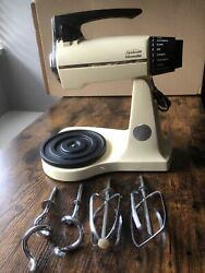 Vtg Sunbeam Mixmaster 60th Anniversary Limited Edition Without Bowls Collectible