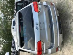 14 Jeep Grand Cherokee Trunk/hatch/tailgate Overland Silver 4212402
