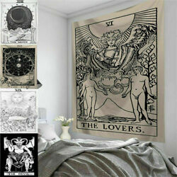 Living Room Decor Tarot Card Wall Hanging Poster Tapestry Hippie Bohemian New