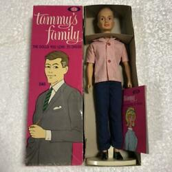 Tammy's Family Dad Doll 1963 Vintage Ideal Deadstock F/s From Japan