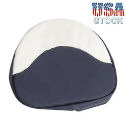 Tractor Seat Cushion Padded Fit For Farmall H M Series 300 450 Cub Blueandwhite