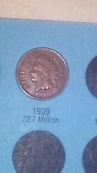 Indian Head Cents 1859-1909 .01