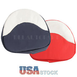 Red/blue Tractor Seat Cushion Seat Padded Fit For Farmall H M Series 300 450 Cub