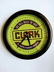 Quartz Clark Forklifts And Burden Carriers We Sale Built To Last Wall Clock 12 In.