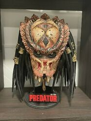 Life Size Predator 2 Bust Not Sideshow Collectibles Custom City Hunter Statue