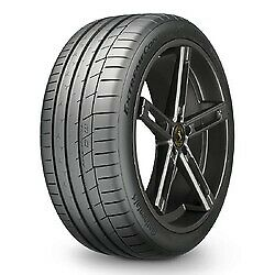 4 New 285/35zr20 Continental Extremecontact Sport Tire 2853520