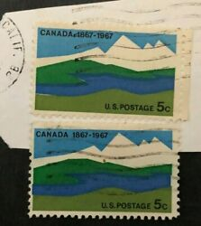 Statehood = Canada Centenary Issue 1867-1967 Collectible Stamps