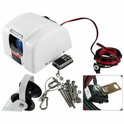 45lbs Boat Electric Anchor Winch W/ Remote Wireless Control Marine Saltwater New