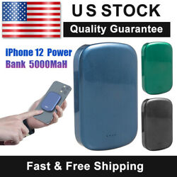 Power Bank For Iphone 12 Fast Magnetic Magsafe Apple Iphone Slim Charger 5000mah