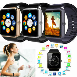 Bluetooth Smart Watch Camera Unlocked Gsm Phone Watches For Android Cell Phones