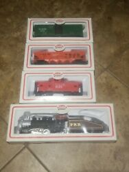 Vintage Model Power Ho Trains. Lot Of 4 New Nos Free Shipping.