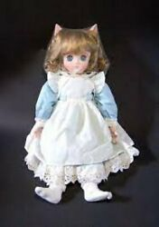 Cotton Country Star White Dream Dreaming Chibi Cat Bisque Doll Talara Limited