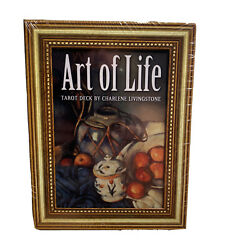 Art Of Life Tarot Deck Brand New Mint Condition 2012 Factory Sealed Livingstone