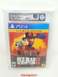 New Red Dead Redemption 2 Ultimate Edition Playstation 4 / Ps4 Sealed Vga 85