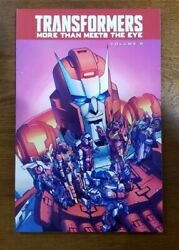 Transformers More Than Meets The Eye Vol 8 Tpb Gn Oop New 2015 Idw James Roberts