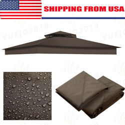 12'x10' Waterproof Outdoor Canopy Top Replacement Cover For 2-tier Sunjoy Gazebo