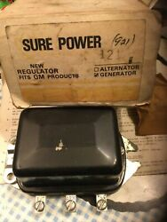 121 Sure Power Voltage Regulator New For Gm Products Generator Applications Only