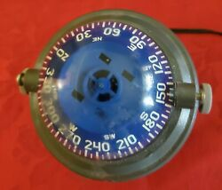 Ritchie Angler Compasses Ra-91 Magnetic Compass Bracket Mount 2.75 Dial Grey