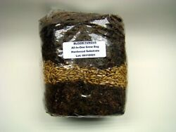 All-in-one Mushroom Kit - Compost/dung Sub - Large 4.5 Lb Bag W Injection Port