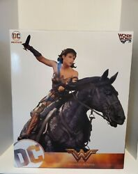 Limited Edition Wonder Woman On Horse 1/6 Scale Deluxe Statue 2017 Dc