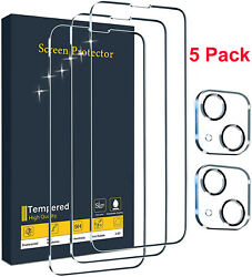 For iPhone 13 12 Pro Max Mini Tempered Glass Screen Protector Camera Full Cover